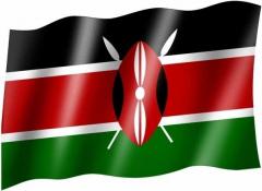 Kenia - Fahne