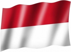 Indonesien - Fahne