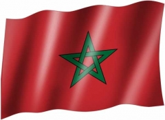 Marokko - Fahne