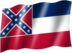 Mississippi - Fahne