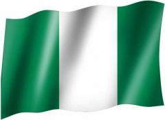 Nigeria - Fahne