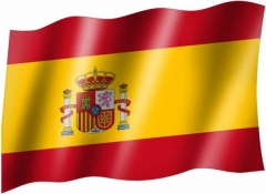 Spanien Wappen - Fahne