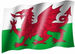 Wales - Fahne