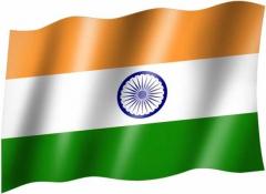 Indien - Fahne