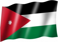 Jordanien - Fahne