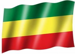 Äthiopien - Fahne