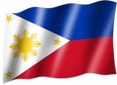 Philippinen - Fahne