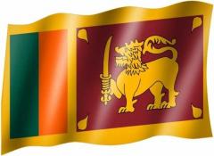 Sri Lanka - Fahne