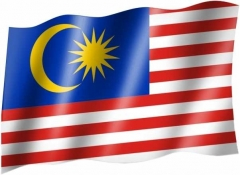 Malaysia - Fahne