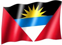 Länderfahne / Anitgua und Barbuda - Fahne