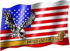 USA Adler - Fahne