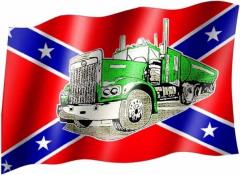 Südstaaten LKW - Fahne