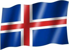 Island - Fahne