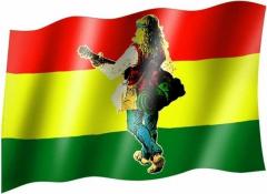 Hippie - Fahne