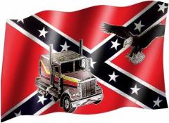 Südstaaten Adler LKW - Fahne