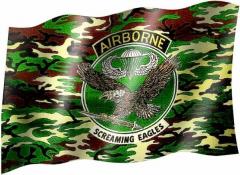 Airborne - Fahne