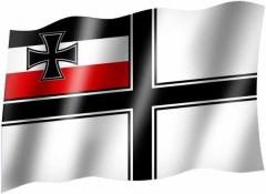 Kaiserliche Kolonialflagge - Fahne