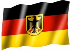 Deutschland Adler - Fahne
