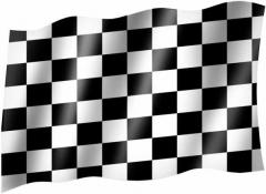 Zielfahne - Fahne