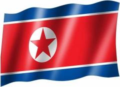Nordkorea - Fahne