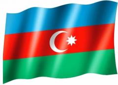 Aserbaidschan - Fahne