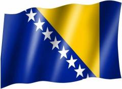 Bosnien - Fahne