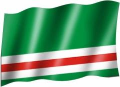 Tschetschenien - Fahne