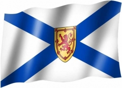 Neu Schottland - Fahne