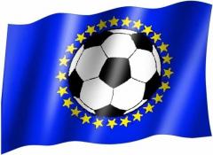 EuropaFußball  - Fahne