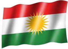 Kurdistan - Fahne