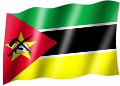 Mosambik - Fahne