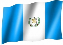 Guatemala - Fahne