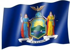 New York - Fahne