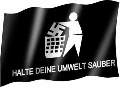 Anti Nazi - Fahne
