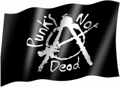 Flag - Punks not dead