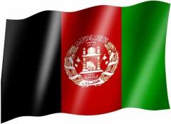 Afghanistan - Fahne