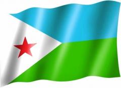 Dschibuti - Fahne