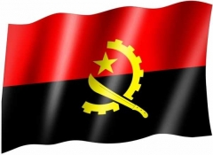 Angola - Fahne
