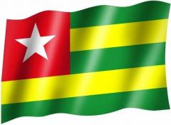 Togo - Fahne