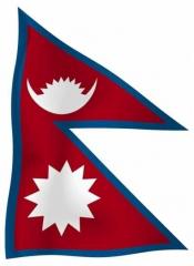 Nepal - Fahne