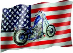 American bike - Fahne