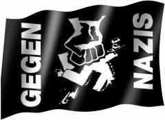 Anti Nazi - Flag