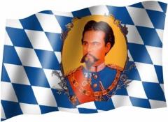 König Ludwig - Fahne