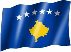 Kosovo - Fahne