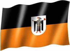 Münchner Kindl - Fahne