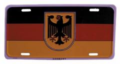 Deutschland Blechschild - 30cm x 15cm