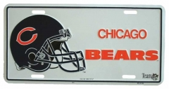 Chicago bears Blechschild - 30cm x 15cm