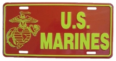 US Marines Blechschild - 30cm x 15cm
