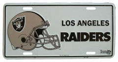 L.A. Raiders Blechschild - 30cm x 15cm