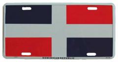 Dominican Republic Tin Sign 30cm x 15cm
